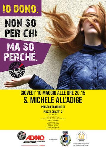 Serata informativa a S. Michele all'Adige