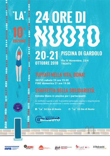 """""""La"""" 24 Ore di Nuoto - 10ª edizione"""