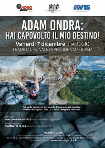 Adam Ondra: hai capovolto il mio destino!